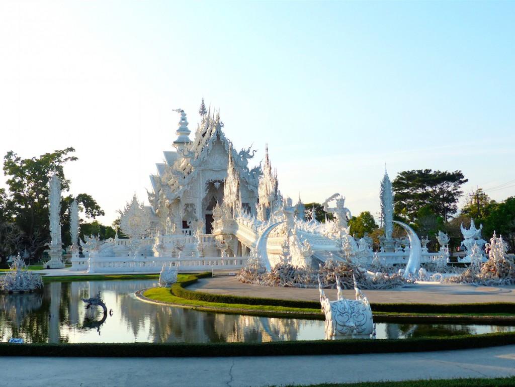 El Templo Blanco, en Chiang Rai