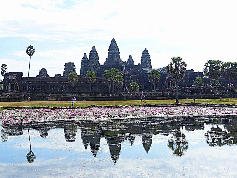 Angkor Wat, uno de los tesoros arqueológicos más importantes del mundo