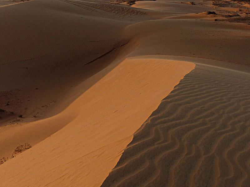 Desierto de dunas, en Mui Ne
