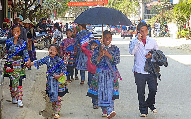 Etnia Hmong, Vietnam
