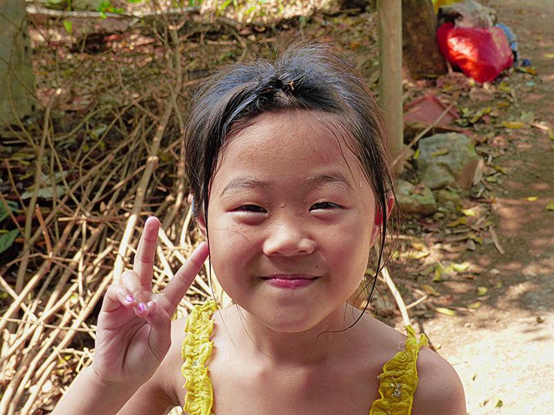 El rostro de la paz oriental, en Ninh Binh
